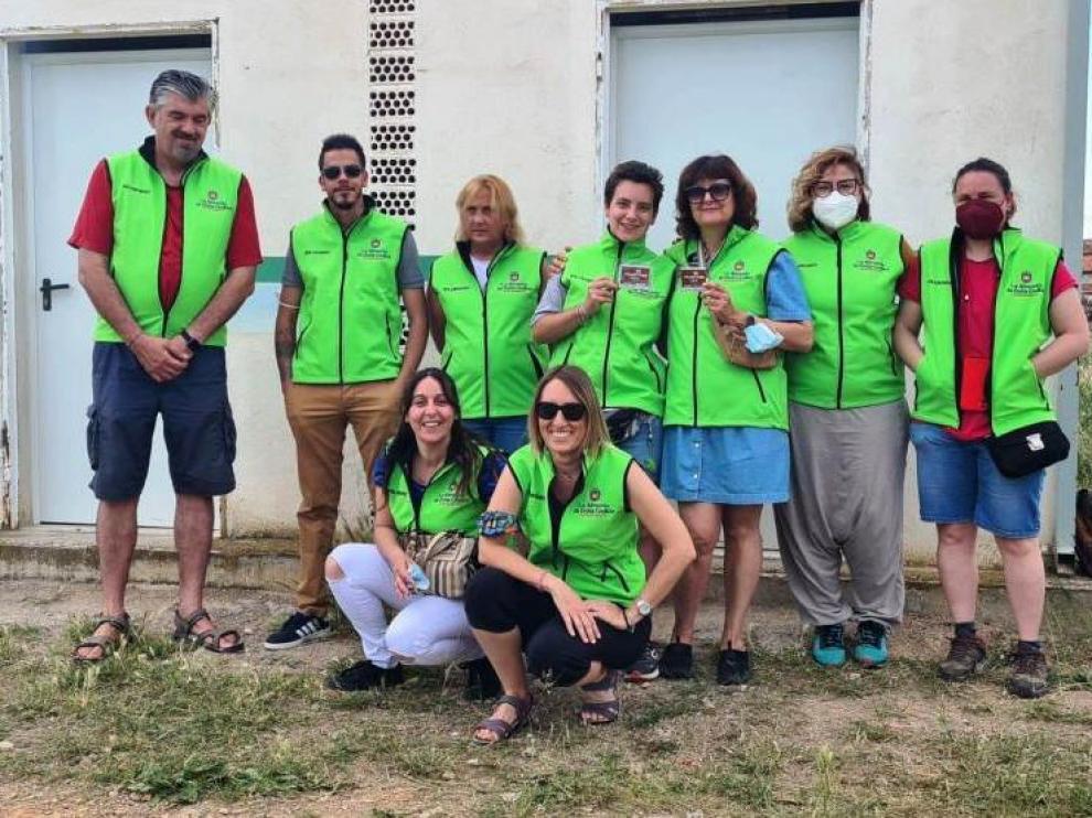 Voluntarios del proyecto CES de La Almunia de Doña Godina.