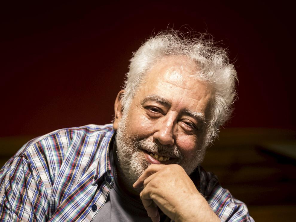 Gabriel Latorre en 2018, el año que recibió el Simón de Honor.