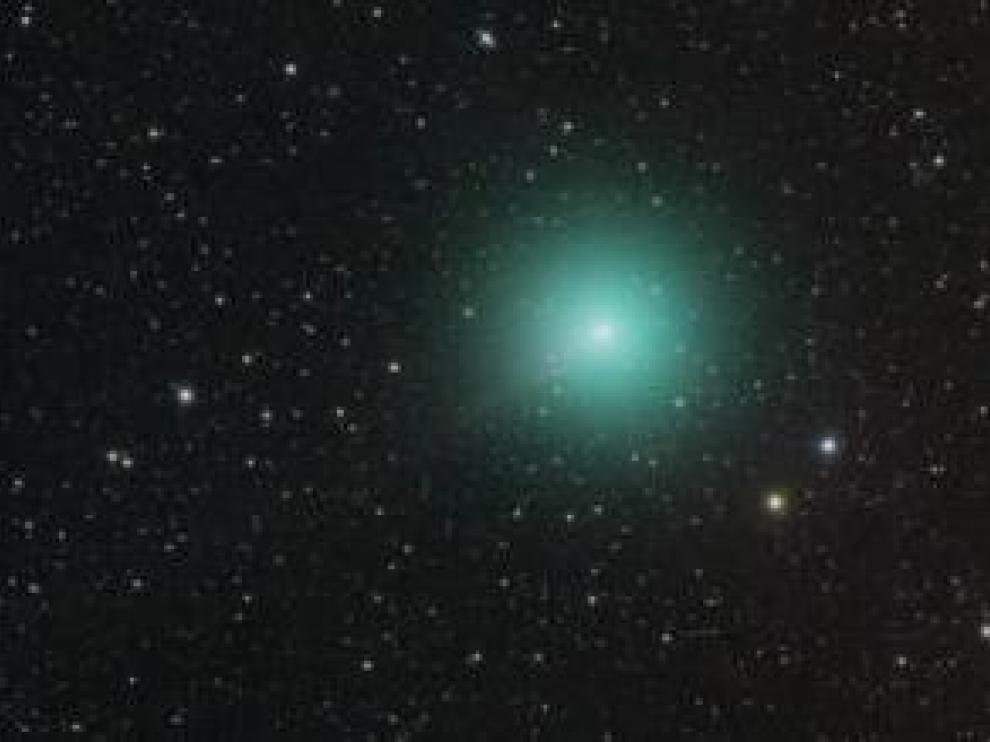 El cometa 46P/Wirtanen, fotografiado el 29 de Noviembre de 2018.
