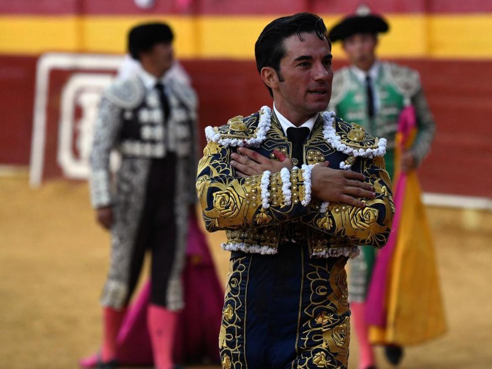 Imanol Sánchez, en una imagen de archivo en Calatayud