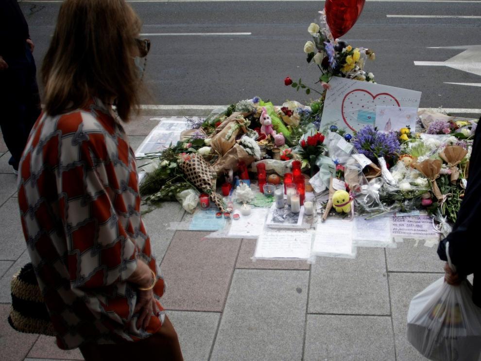 Homenaje al joven asesinado Samuel Luiz
