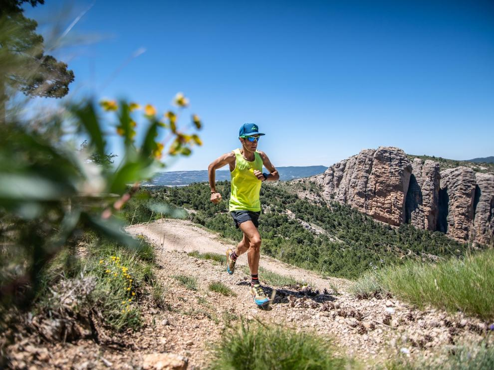 José Antonio de Pablo ha recorrido el Matarraña haciendo trail running o ciclismo, entre otras disciplinas.