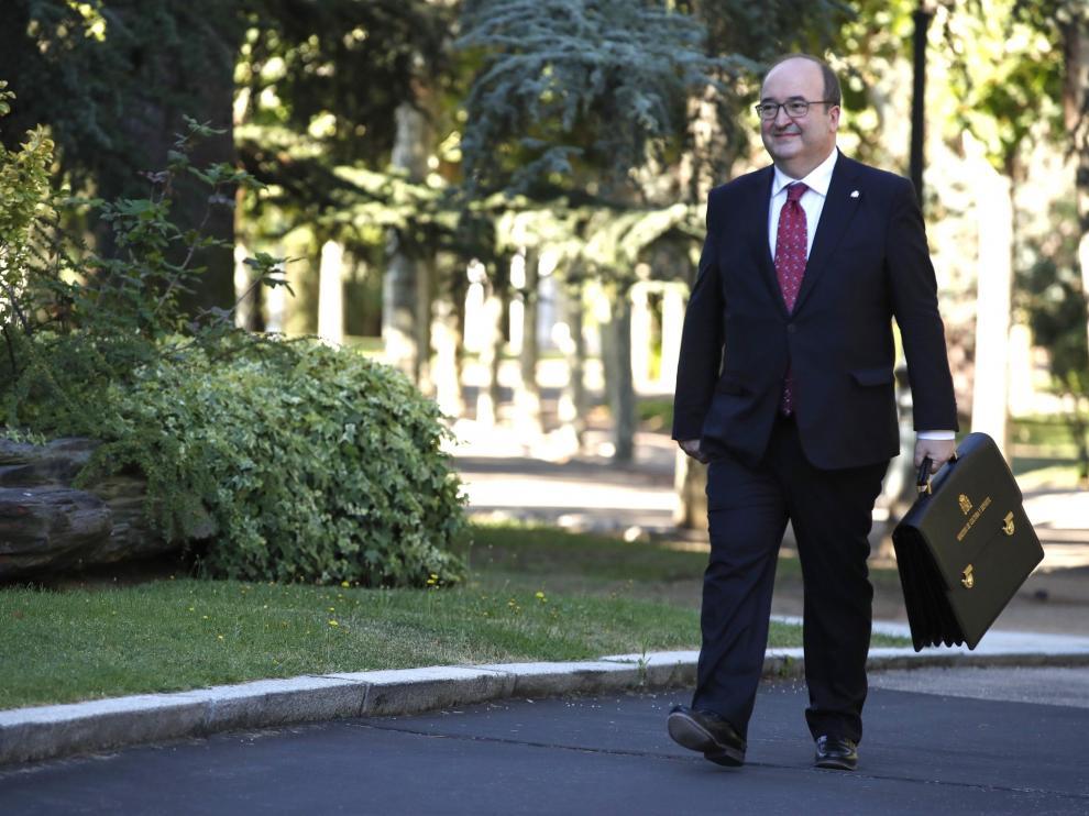 El nuevo ministro de Cultura y Deporte, Miquel Iceta.