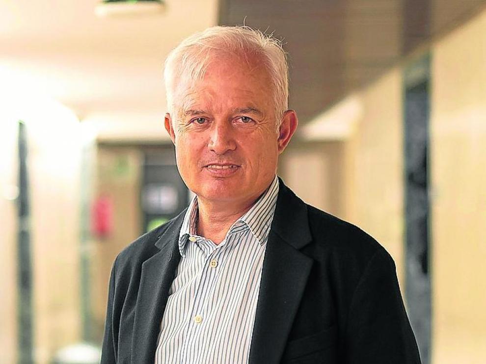 Eloy Suárez, diputado del PP, en el Congreso. enrique cidoncha