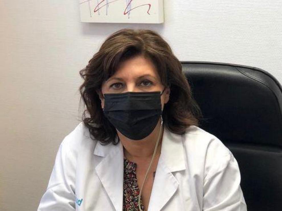 Alicia González, subdirectora del Hospital Universitario San Jorge de Huesca y del Hospital de Jaca.