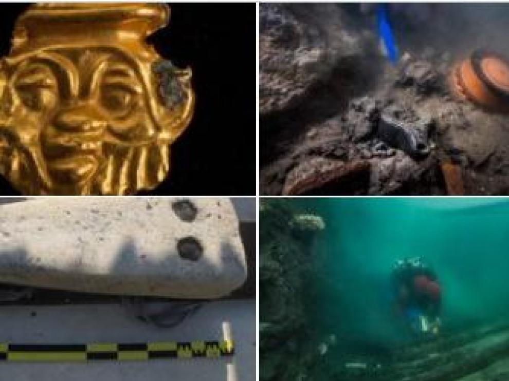 Imágenes de los descubrimientos