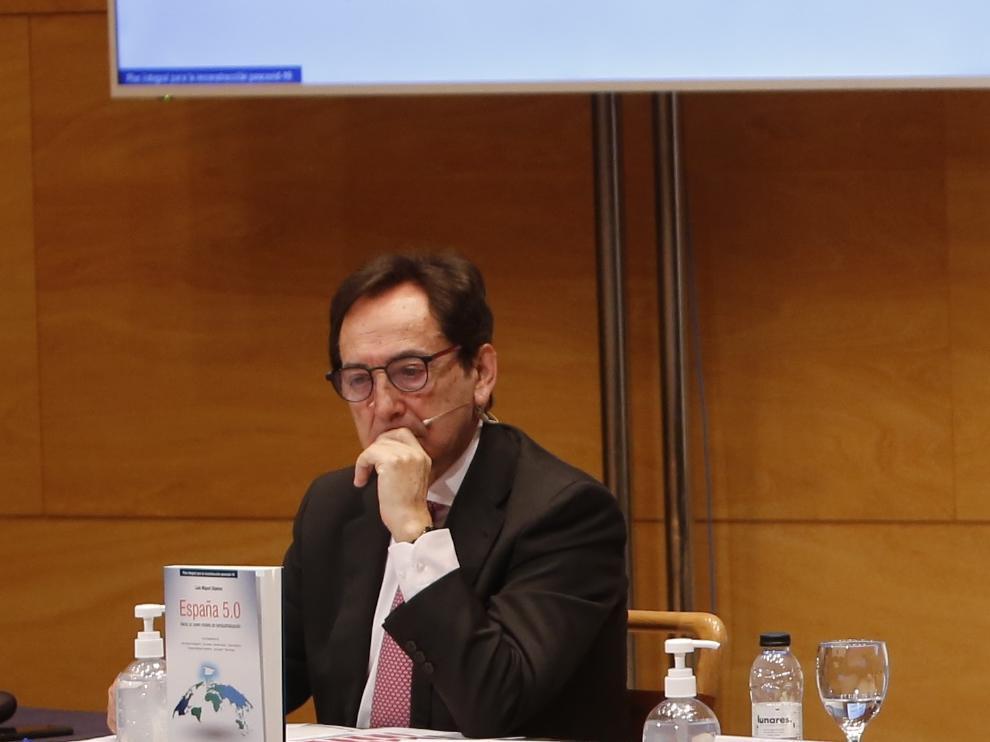 Salvador Arenere, presidente de Adea.