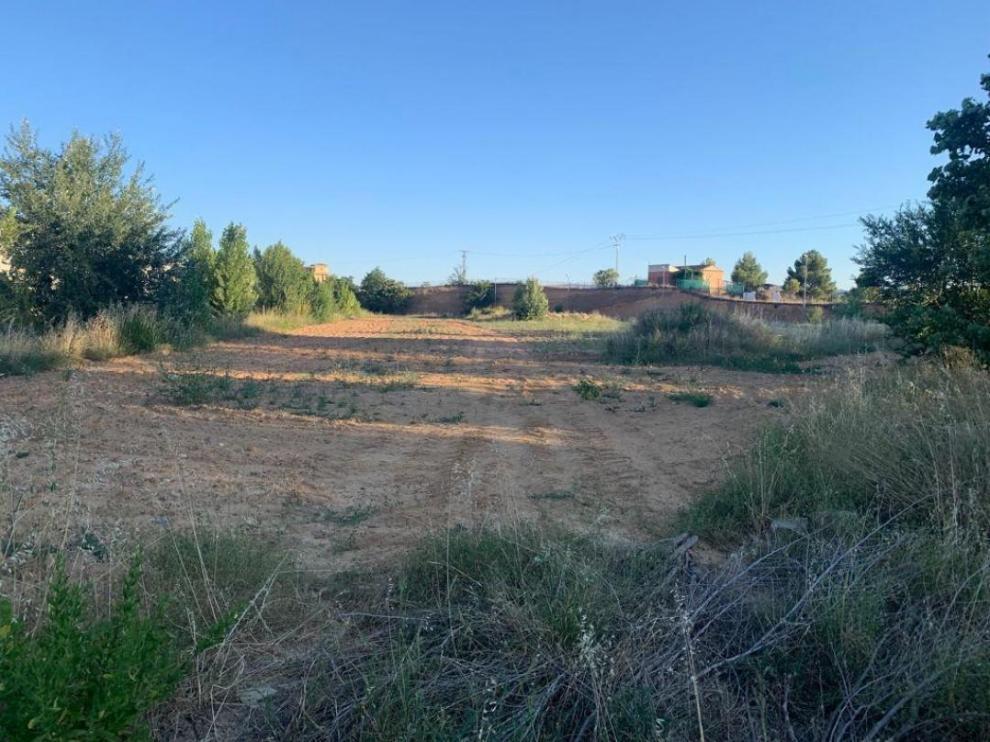 Imagen de la parcela que ha adquirido el Ayuntamiento para la futura instalación de empresas.