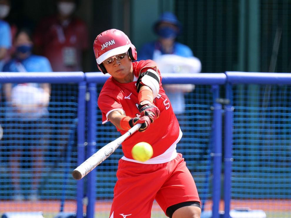 Tokyo 2020 Olympic Games - Australia vs. Japan softball