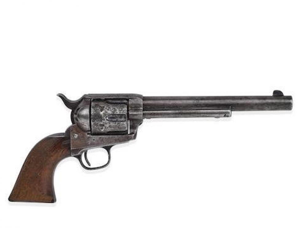 La pistola que saldrá a subasta