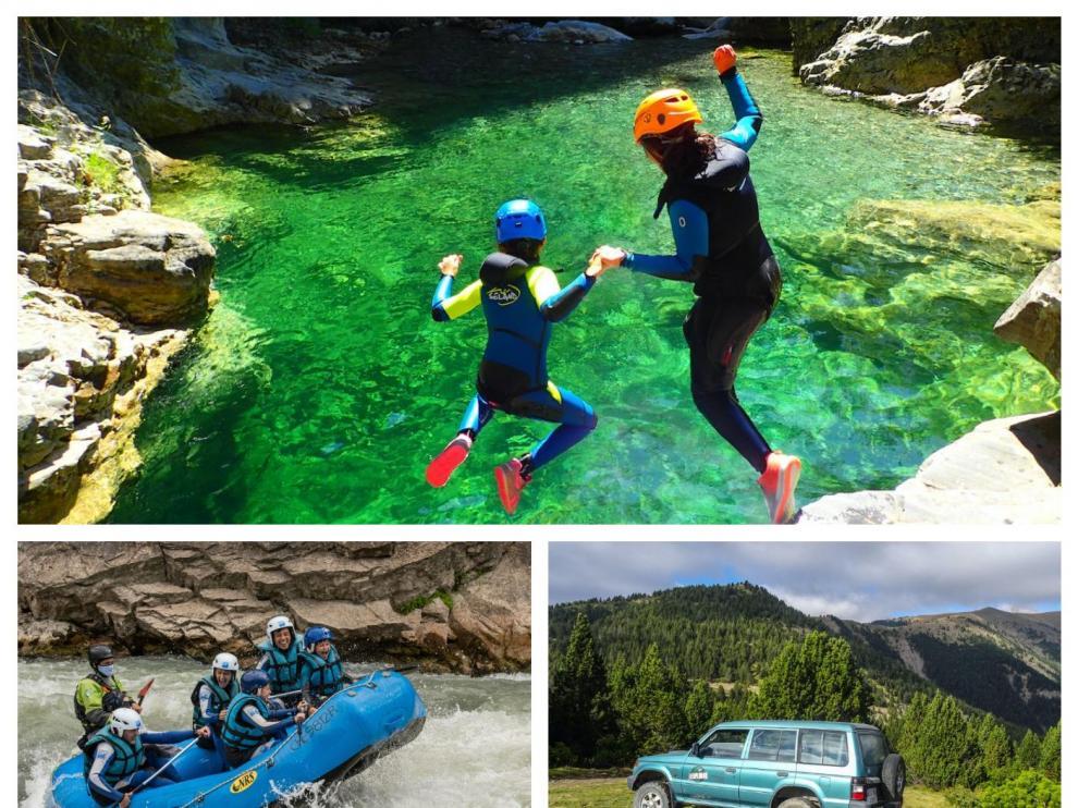 Planes de turismo activo en Aragón