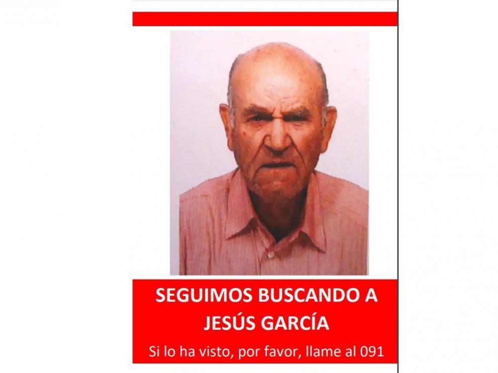 Sigue la búsqueda del desaparecido en Zaragoza Jesús García Angos.