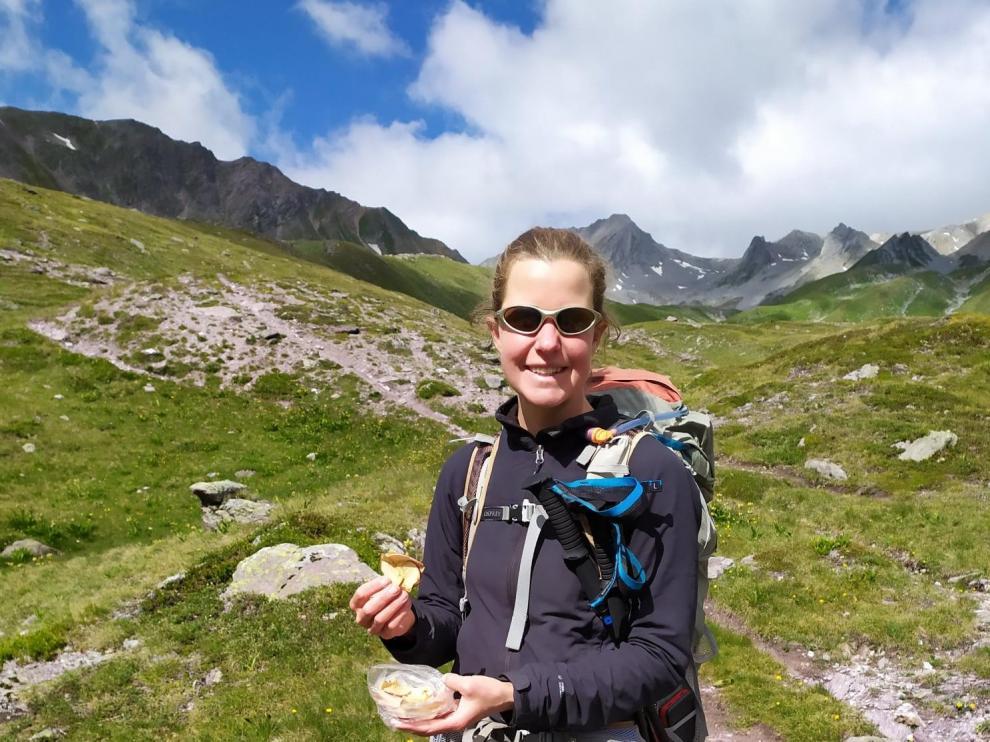 Esther Dingley era muy aficionada a la montaña y una conocida bloguera de viajes en su país.