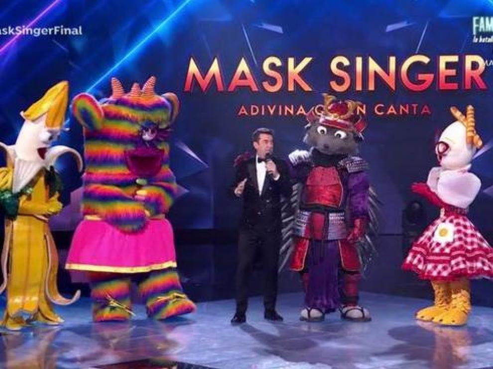 Los finalistas de la segunda edición de 'Mask Singer'.