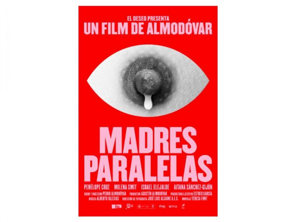 El cartel de 'Madres paralelas', lo nuevo de Pedro Almodóvar.