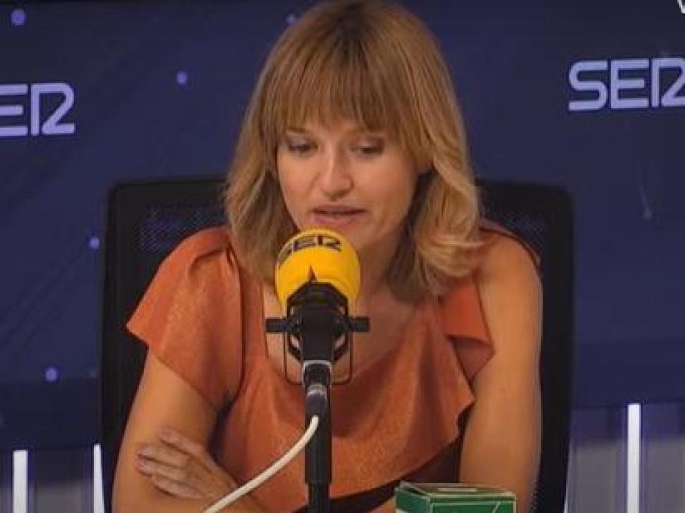 La ministra Pilar Alegría ha sido entrevistada esta mañana en la Ser.