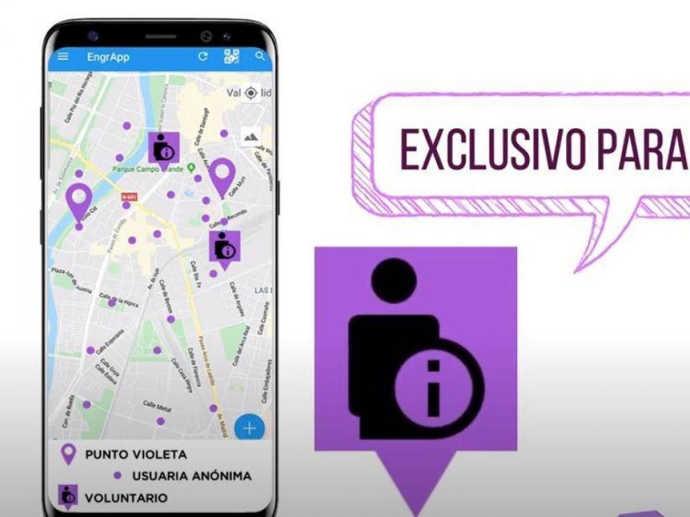 Aplicación Puntos Violeta para denunciar la violencia machista en el mundo rural