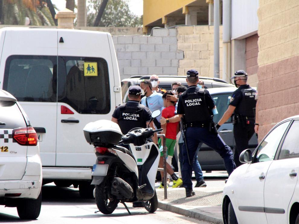 Comienza el retorno a Marruecos de los menores que entraron a Ceuta en mayo