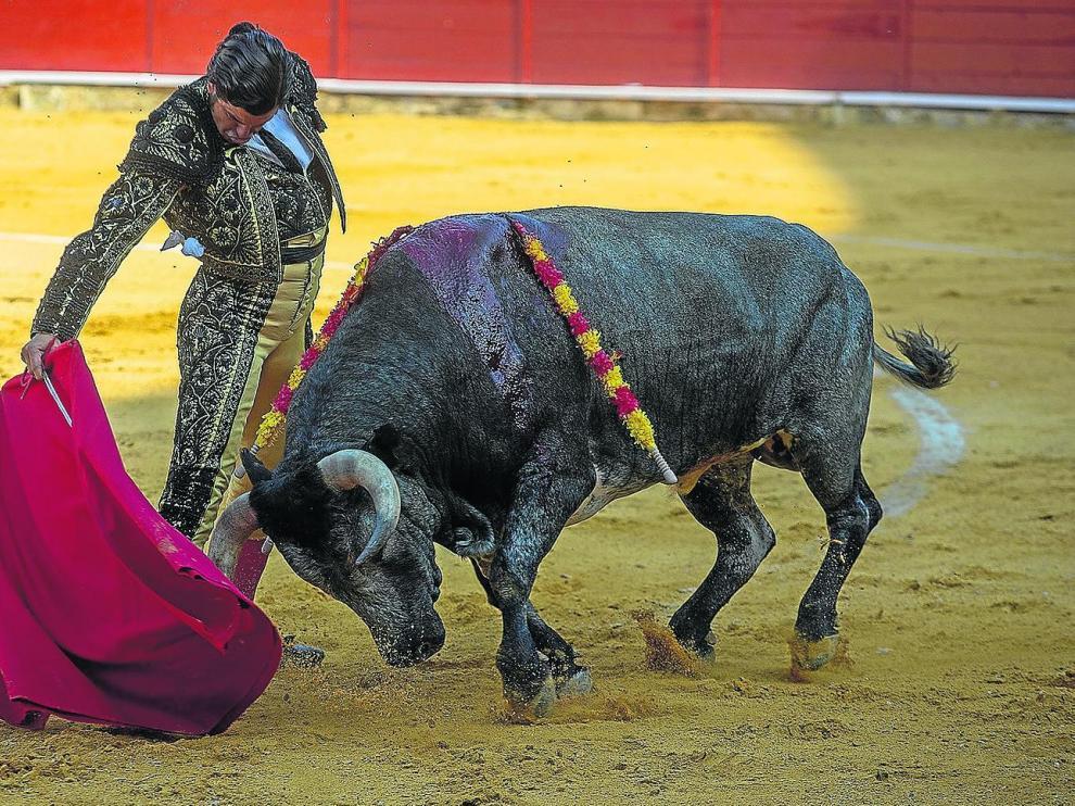 Morante de La Puebla dio muestras de su torería durante muchas fases de la lidia de sus dos astados.