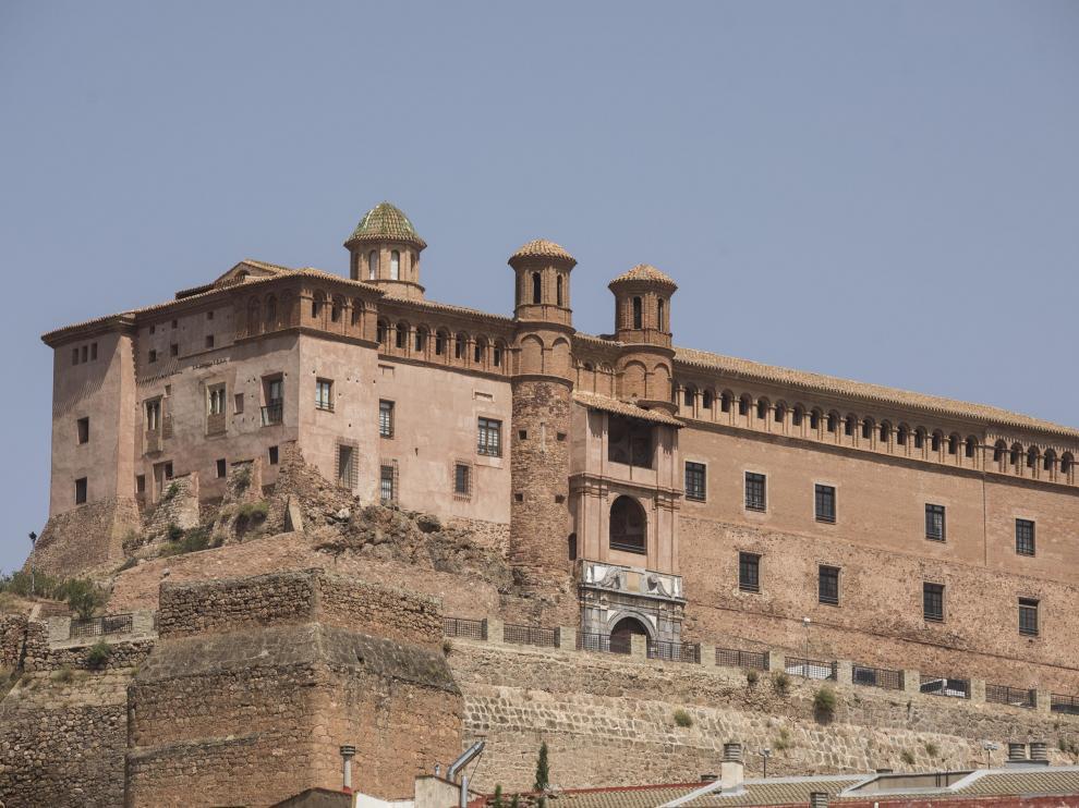 El castillo palacio del Papa Luna en Illueca.