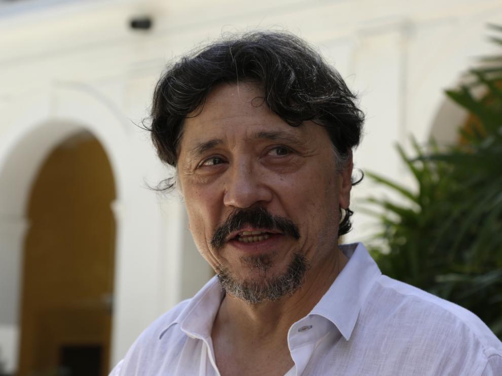 Javier y Carlos Bardem, durante la presentación de una novela anterior.