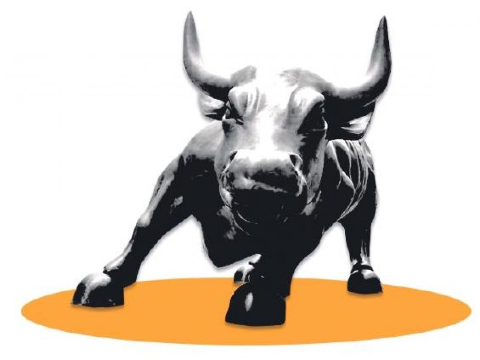 El toro es uno de los símbolos de la Bolsa de Nueva York.