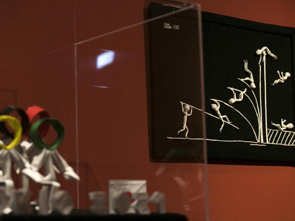 Los Juegos Olímpicos inspiran parte de la oferta actual del Museo de Origami