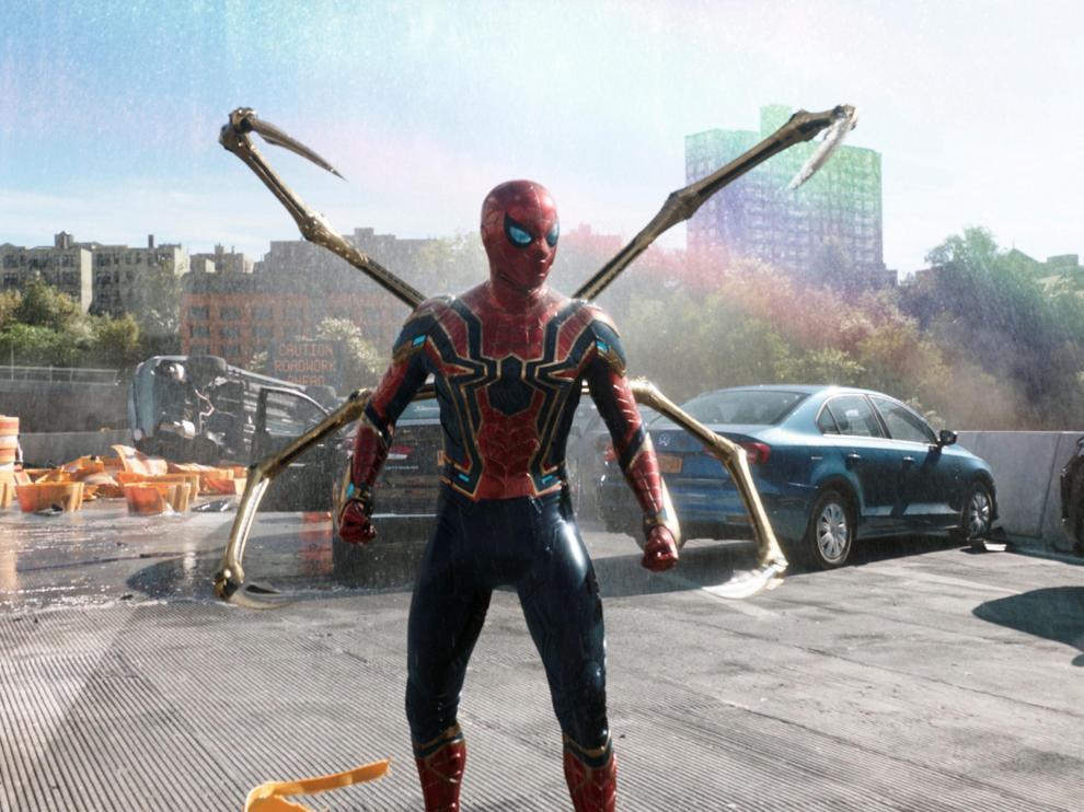 Primeras imágenes de 'Spider-Man: no way home', que Disney estrenará en cines.