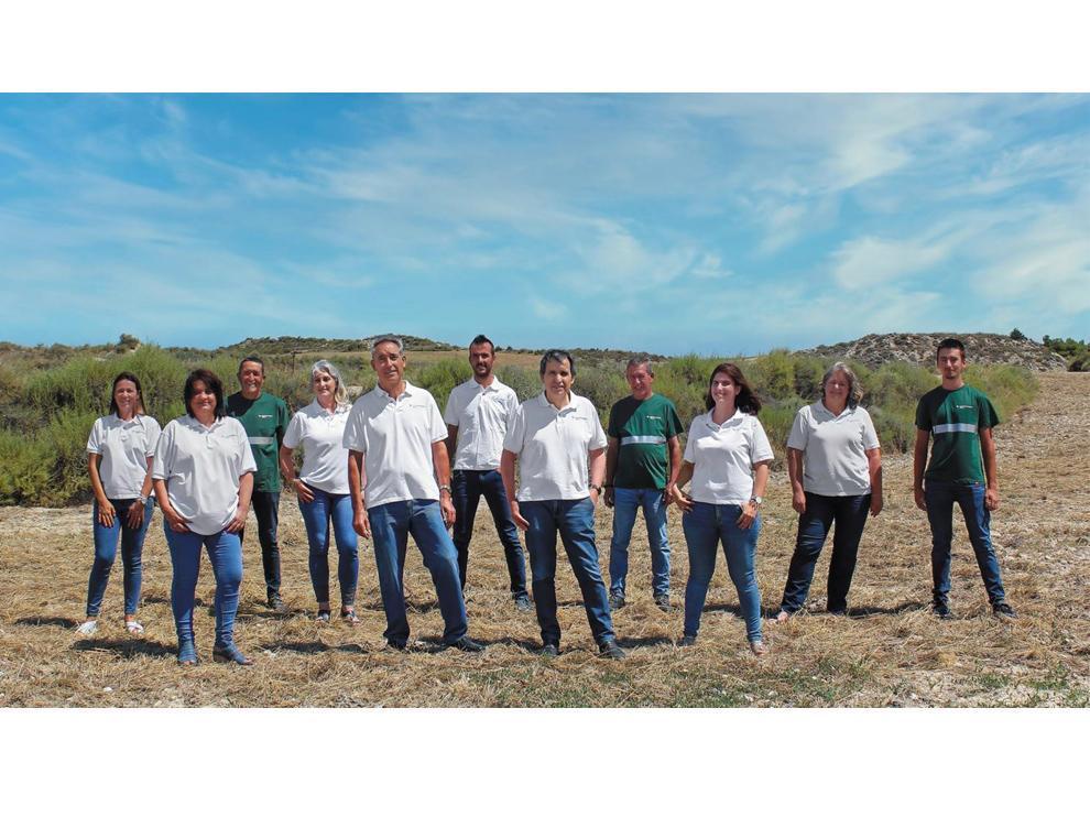 El equipo de Agromonegros lleva desde los años ochenta apostando por obtener las mejores semillas certificadas del mercado.