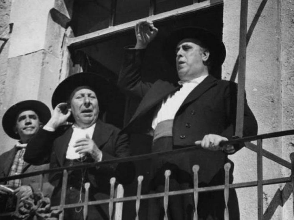 Un fotograma de la película 'Bienvenido, míster Marshall'.