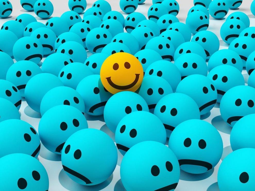 La tristeza y la alegría conforman la vida.