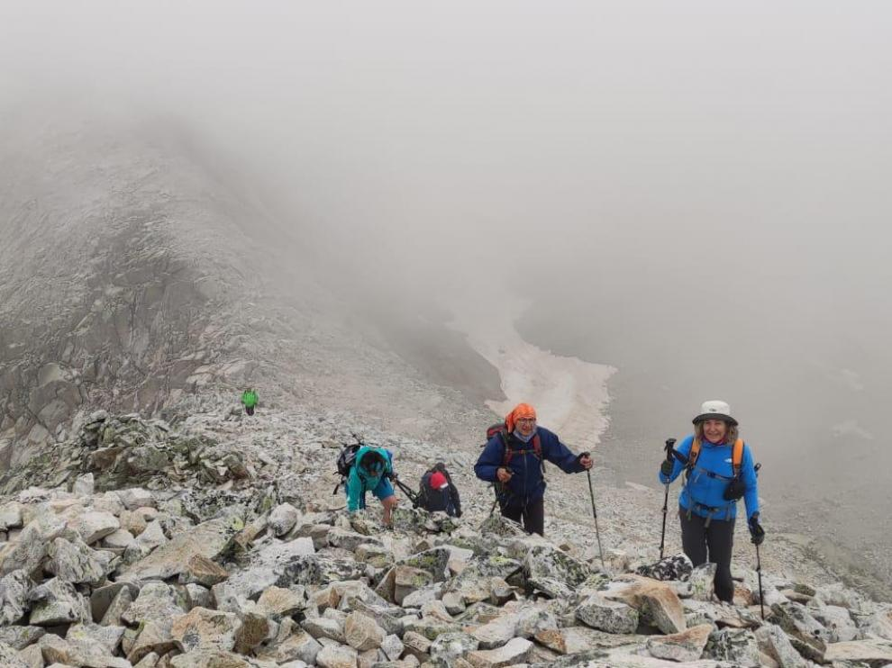 La ADHB completó el 8 de agosto una ruta a la Tuse de Remuñe.
