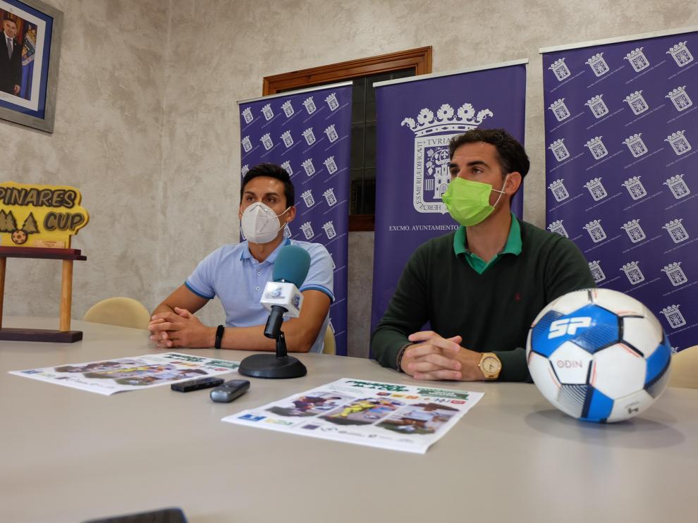 Presentación de la Pinares Cup de fútbol en Tarazona