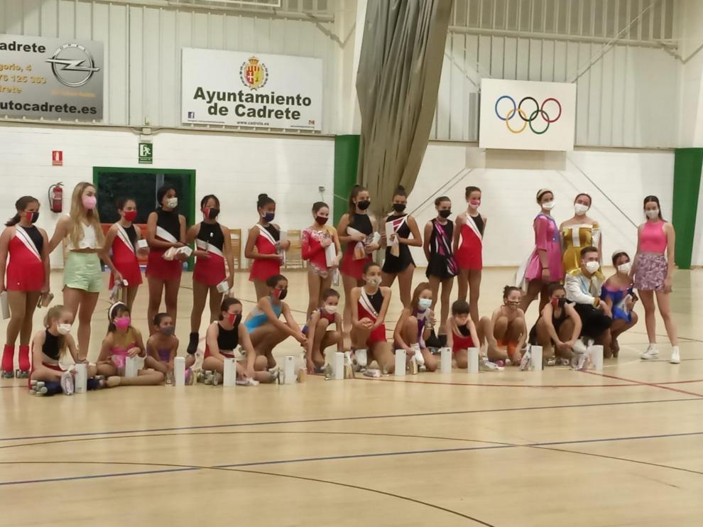 Una de las actividades deportivas realizadas en Cadrete en la pasada edición.