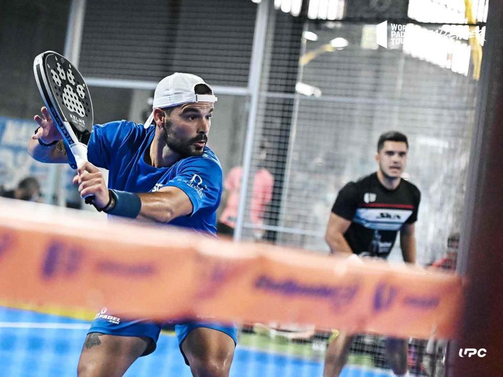 Javier Palasi, en acción
