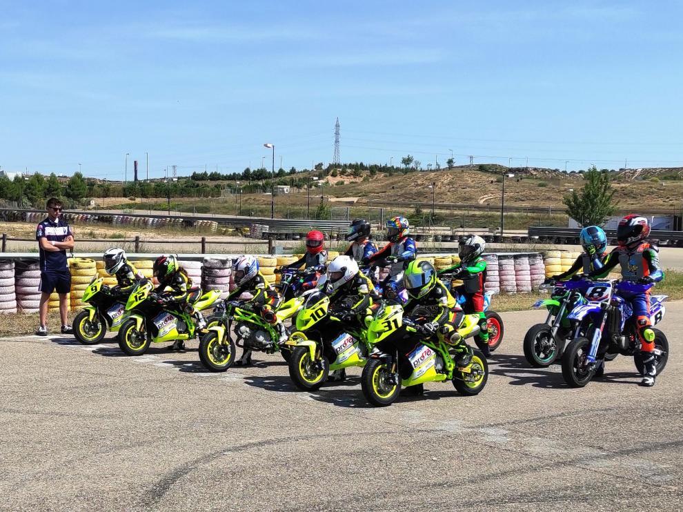 La Promo Aragón de motociclismo estrena nueva categoría monomarca este domingo en Samper