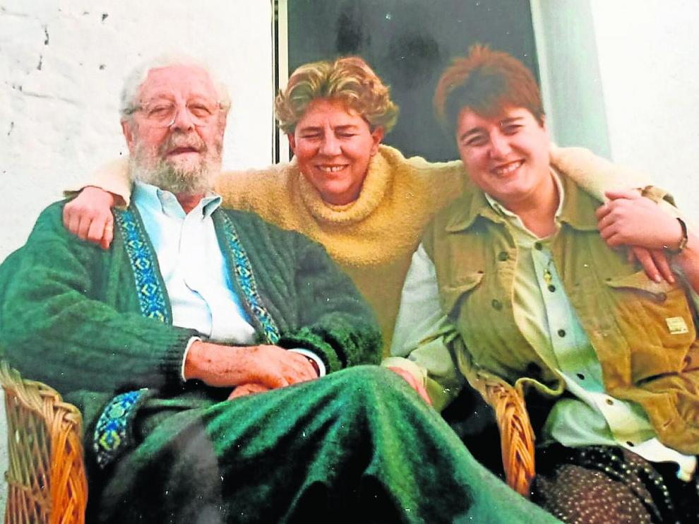 Jaulín, 1999: Luis García Berlanga, Pilar Ortega y Pilar Camón.