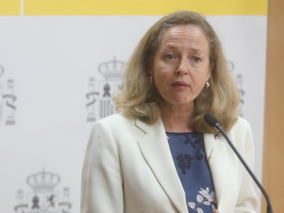 La vicepresidenta para Asuntos Económicos, Nadia Calviño.