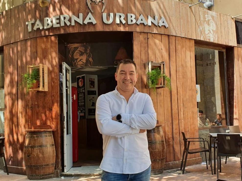 David Sariñena, en Taberna Urbana