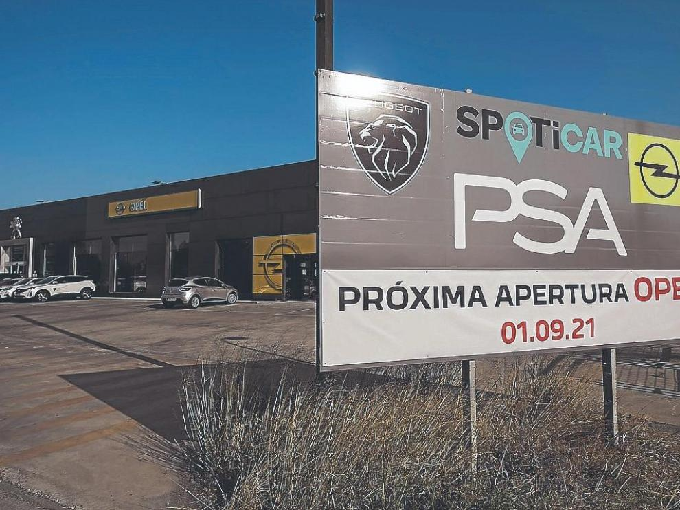 PSA Retail inaugurará el 1 de septiembre un nuevo concesionario de Opel en la carretera de Madrid.