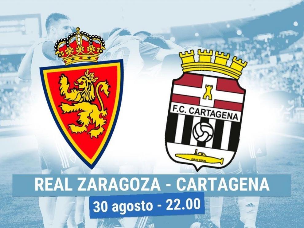 Horario Real Zaragoza- Cartagena.
