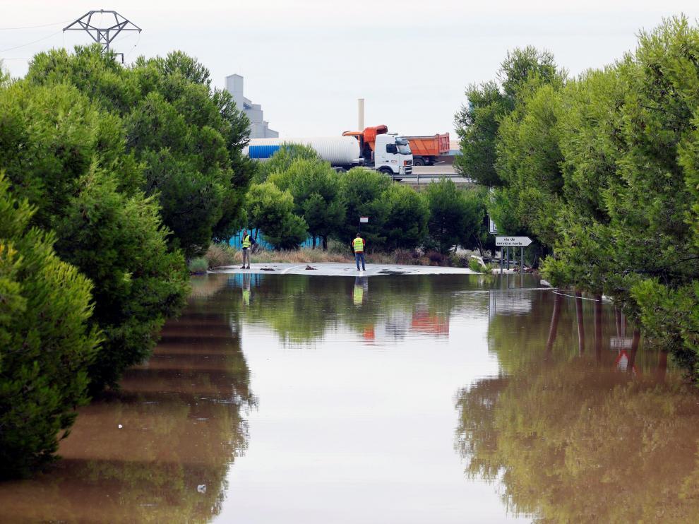 La alerta por lluvias en Castellón y Valencia continúa