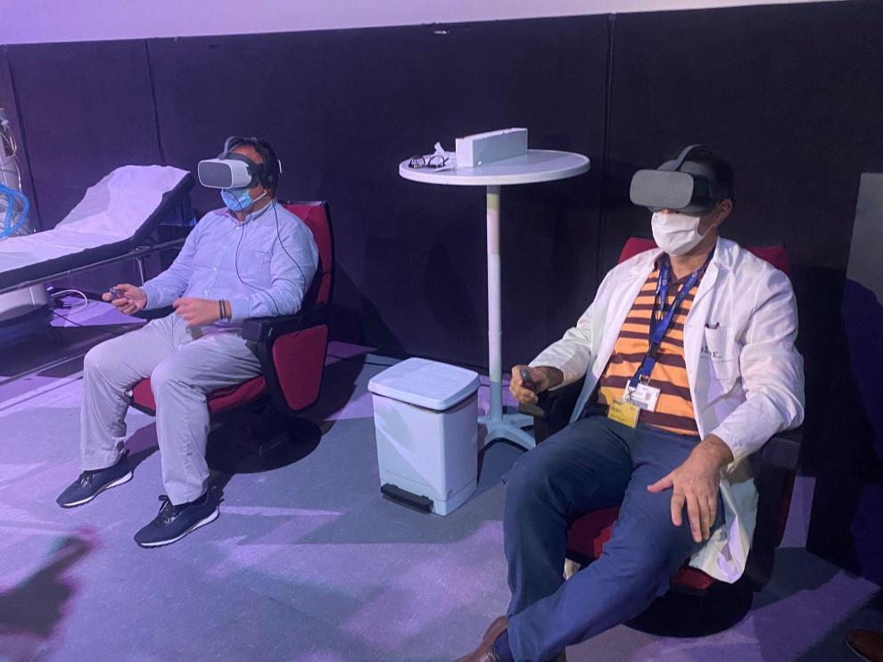 Presentación de 'Respira', un proyecto de realidad virtual para vivir la experiencia de una persona enferma de covid-19