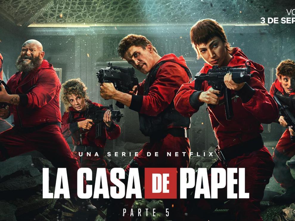 Imagen promocional de la última temporada de 'La casa de papel'