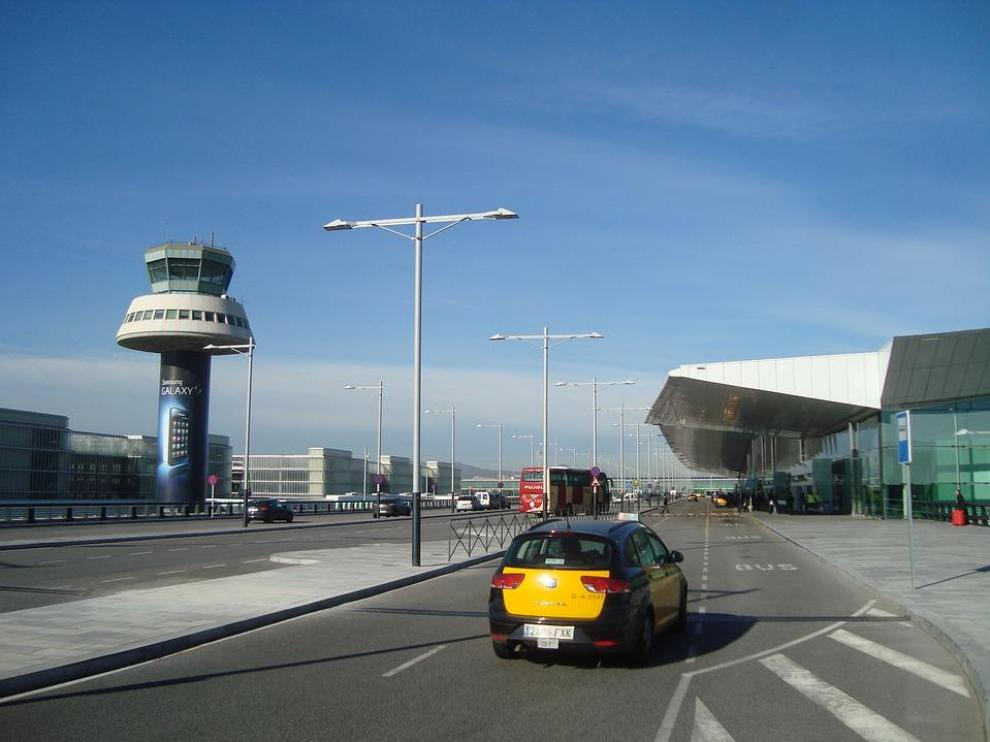 Foto de archivo del aeropuerto de Barcelona
