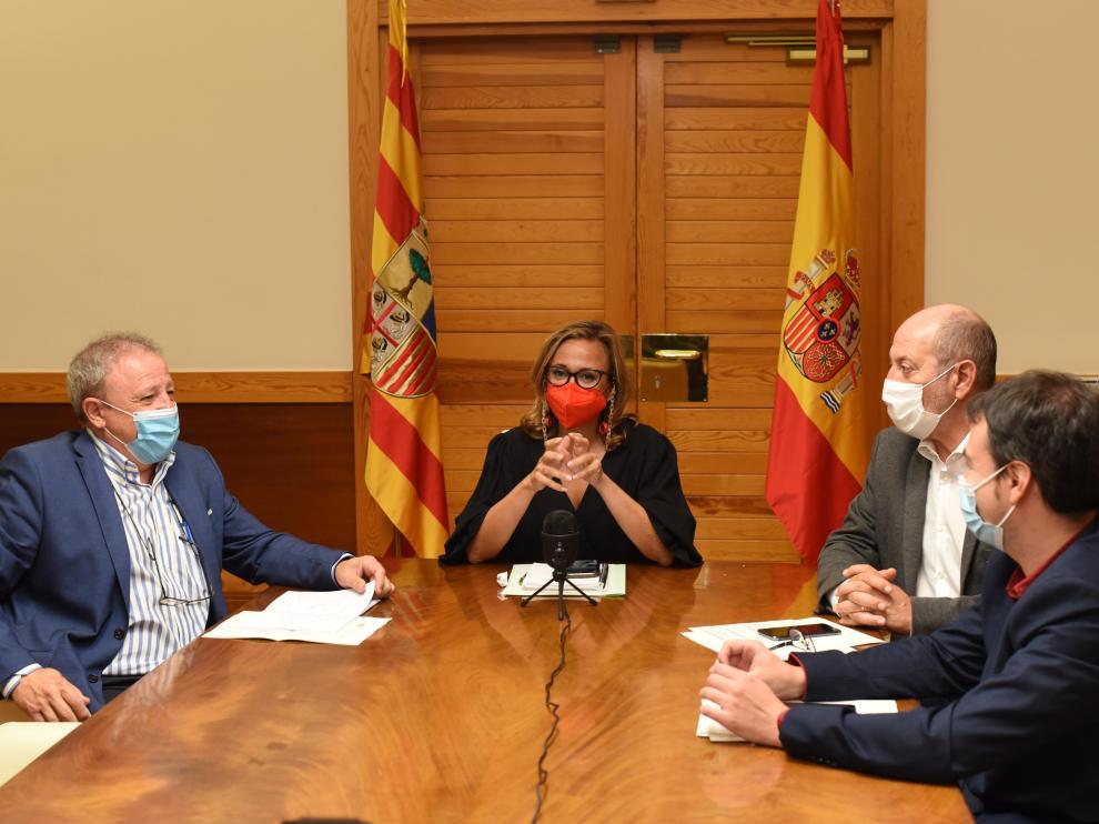 Reunión del Consejo Local de Aragón