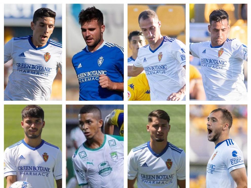 Los ocho fichajes del Real Zaragoza para esta temporada.