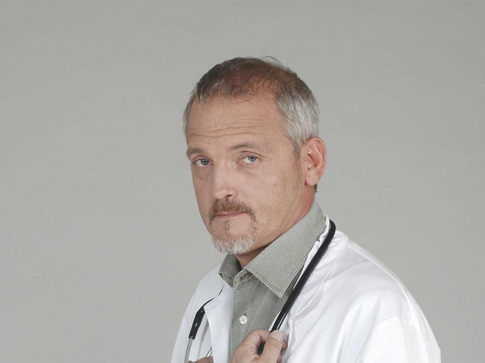 Rebellón, en su papel de doctor Vilches