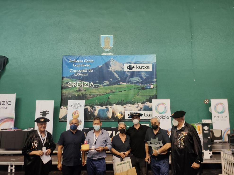 Eneko Goiburu vence en el XLVIII concurso de quesos de Ordizia