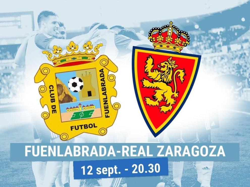 Horario y dónde ver el Fuenlabrada-Real Zaragoza